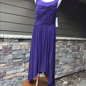 London Times NWT Royal purple knit jersey dress